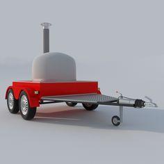3D Pizza Oven Mobile - 3D Model