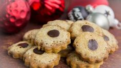 Moccaplätzchen - Low Carb Weihnachtsbäckerei
