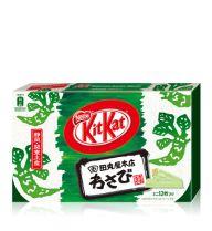 """Kitkat """"wasabi"""" flavour in Japan."""