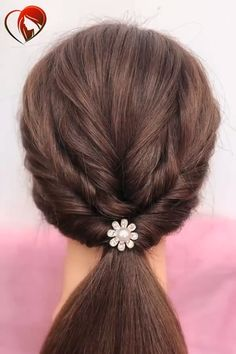 Long Hair Hairstyles For Girl Hairstyles For Medium Length Hair Easy, Hair Tutorials For Medium Hair, Curls For Long Hair, Medium Hair Styles, Curly Hair Styles, Different Hairstyles, Teen Hairstyles, Twist Hairstyles, Girl Hair Dos