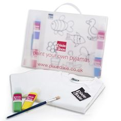 Paint Your Own Pyjamas - Pixie Dixie Birthday Presents For Girls, Presents For Boys, Gifts For Girls, Childrens Pyjamas, Childrens Gifts, Creative Gifts, Cool Gifts, 9 Year Old Girl, Kids Pjs