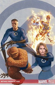 Fantastic Four by Paolo Rivera