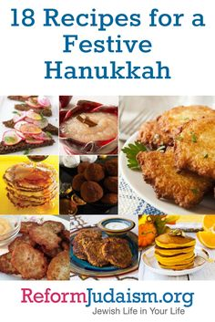 If you're looking for some delicious, oil-filled recipes for your Hanukkah cel. If you're looking for some delicious, oil-filled recipes for your Hanukkah celebration this year, Kosher Recipes, Cooking Recipes, Cooking Tips, Feliz Hanukkah, Happy Hanukkah, Hannukah, Hanukkah Meals, Hanukkah Recipes, Recipes