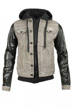 NEU CIPO & BAXX Herren Kapuze Jeansjacke Sweatjacke Braun Pullover Slim Fit in Kleidung & Accessoires | eBay