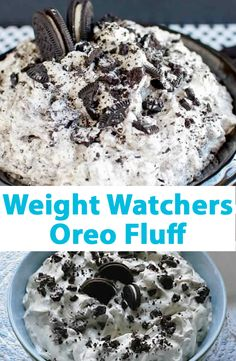 Weight Watchers Oreo Fluff
