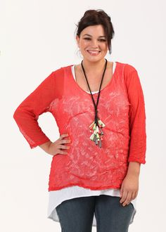 Plus Size Outfits – Plus Size Apparel and Tops Online at TS14 Plus - 2-4-1 TOP/ TANK - TS14