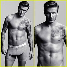 David Beckham for H&M.;     Mmmhmm..