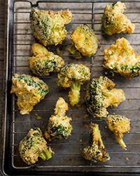 Broccoli Tempura Recipe on Food & Wine