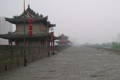 On The Wall Of The City, Xian