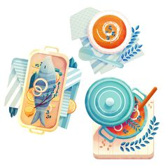 Folio illustration agency, London, UK | Maïté Franchi - Digital, futuristic, texture, animals, concept, travel, icons, scene, architecture - Illustrator