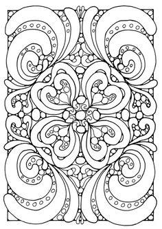 Coloring page mandala a04, om uit te printen op afbeelding klikken, je komt op de website, dan op de print button klikken