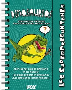 Dinosaurios Cover, Books, Products, Museum, Board Book, Children's Books, Free Books, Coil Binding, Childproofing