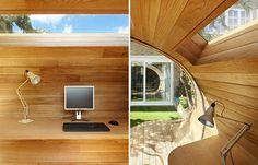 Arquitetos Projetam Escritório No Quintal Ideal Pra Quem Trabalha De Home  Office