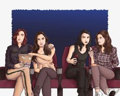 Lol, Carm and Nicole look so judgy. Carmilla And Laura, Carmilla Series, Cinema Times, Dominique Provost Chalkley, Waverly And Nicole, Yuri Anime, Life Is Strange, Badass Women, Supergirl