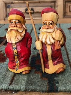 Christmas Nativity Scene, Christmas Fairy, Christmas Things, Christmas Wood, Simple Wood Carving, Carving Wood, Wood Carvings, Vintage Santa Claus, Vintage Santas