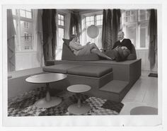 Nanna Ditzel and Percy von Halling-Koch, 1965
