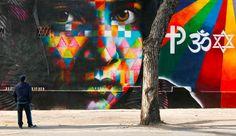 Kobra, le street-artiste brésilien haut en couleurs
