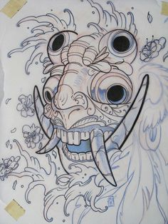barong mask by SunofKyuss.deviantart.com on @deviantART