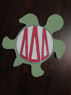 Tri Delta monogram craft