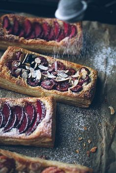 Puff pastry tarts by Call me cupcake, via Flickr