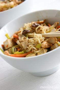 tofu-siitakewokki Vegan Baking, I Love Food, Tofu, Vegan Recipes, Ethnic Recipes, Vegane Rezepte