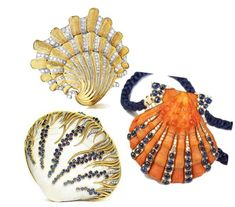 From Shining Sea to Glittering Gems: Verdura's Seashell Jewels