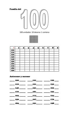 Hundreds, Tens and Ones Place Value Blocks Teaching Math, Teaching Resources, Place Value Blocks, Math Sheets, Subtraction Worksheets, Tens And Ones, 2nd Grade Math, Home Learning, Math For Kids