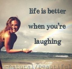 Laughter is the cure for any and every thing!