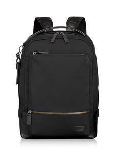 6e27891c335 TUMI Bates Backpack Tumi, Nylons, Backpack Straps, Day Bag, Black Backpack,