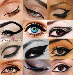 Eye make up     #eyeline #makeup