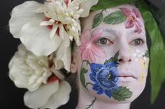 Bodypainting Flowers