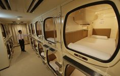 add a flexable storage net and walla you have an emergency house.... Capsule hotel