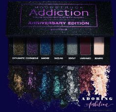 Moodstruck anniversary edition eyeshadow palette  get ready for those Christmas party's with these glitter shadows available in Younique's November 2017 kudos