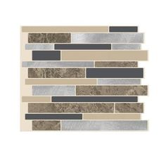 Peel And Stick Mosaic Decorative Wall Tile Smart Tiles 1020 Inx 910 Inpeel And Stick Mosaic Decorative
