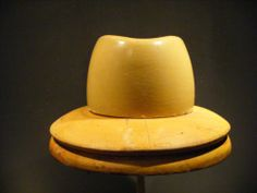 Vintage wooden hat block, millinery, fascinator