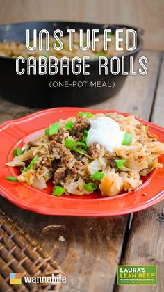 Here are a bunch of simple cabbage recipes your family will love! Easy dinners for St. Patrick's Day and throughout the year. Whether you make it in the oven, slow cooker, crockpot or in your Instant Pot we love cabbage every which way. Easy Cabbage Recipes, Easy Cabbage Rolls, Unstuffed Cabbage Rolls, Lunch Recipes, Beef Recipes, Dinner Recipes, Cooking Recipes, Healthy Recipes, Delicious Recipes
