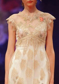 """""""Still Life Collection"""" by Claire Pettibone   """"Heart's Desire"""" (Detail View Of Bodice)××××"""
