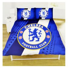 Chelsea fc #stripe #double #duvet set,  View more on the LINK: 	http://www.zeppy.io/product/gb/2/152304621120/