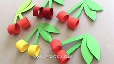 Winter Crafts For Kids Spring Crafts For Kids, Paper Crafts For Kids, Craft Activities For Kids, Summer Crafts, Art For Kids, Arts And Crafts, Diy Crafts, 4 Kids, Fruit Crafts