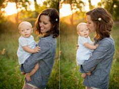 6 month old family photos || Emily Davidson Photography
