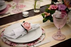 Sousplats no casamento
