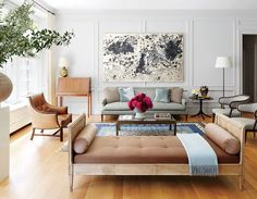 Tips for Decorating a Really Large Living Room - Little Green Notebook
