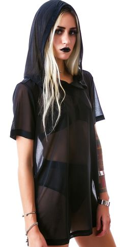 Widow Nightshade Hooded Pullover | Dolls Kill55