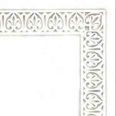 Fleur de Lis Molding Furniture Stencil by Royal Design Studios Great for Antiqued Mirrors, Walls, Ceilings ... not just Furniture!