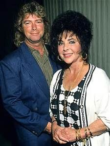 Elizabeth Taylor and Husband, Larry Fortensky