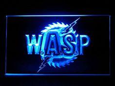 J729B WASP Bar Pub Sport Game Champion Star Ball Light Sign #New