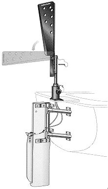 Auto-Helm cable-operated self-steering gear