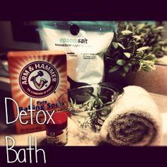 The Penny Pinch: DIY Detox Bath