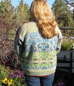 Norsk Needlework: at Home: 3 New Pattern and Beautiful Fall Day for pictures -- WOW!
