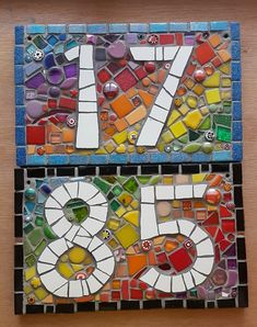 Mosaic Tile Art, Mosaic Artwork, Mirror Mosaic, Mosaic Glass, Mosaic Art Projects, Mosaic Crafts, Mosaic Flower Pots, Mosaic Garden, Mosaic Stepping Stones